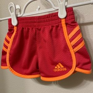 Adidas | Baby Girl Infant Athletic Shorts- 6 Month
